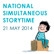 National Simultaneous Storytime banner