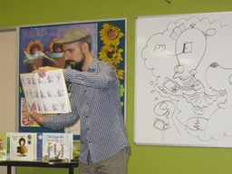 Author/Illustrator Peter Carnavas Wows Kelso