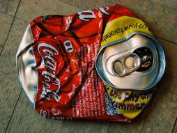 Aluminium can recycling